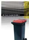 EuroPlast - Model 10 L - Non Wheeled Collection Bin Systems Brochure