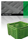 EuroPlast - Model 660 L - 4 Wheeled Collection Bin Systems Brochure