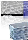 Europlast - Model 770 L - 4 Wheeled Collection Bin Systems Brochure