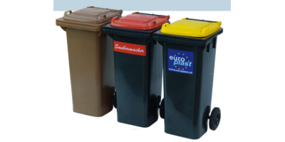 EuroPlast - Model 80 l- 840-1 - Refuse Disposal and Waste Collection Container