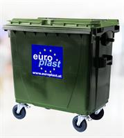 Europlast - Model 770 L - 4 Wheeled Collection Bin Systems