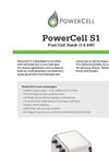 PowerCell - Model S1 - Fuel Cell Stack - Brochure