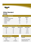 White Standard - Model 0-0-62 - Potassium Chloride Brochure