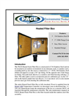 PACE - Model 1410 Heated Stack Filter Box Brochure