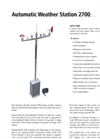AWS 2700 Automatic Weather Station Datasheet