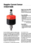 4100/4100R Doppler Current Sensor Brochure