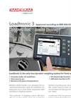 AADI - Model Loadtronic 3 - Dynamic Weighing System for Wheel Loaders - Brochure