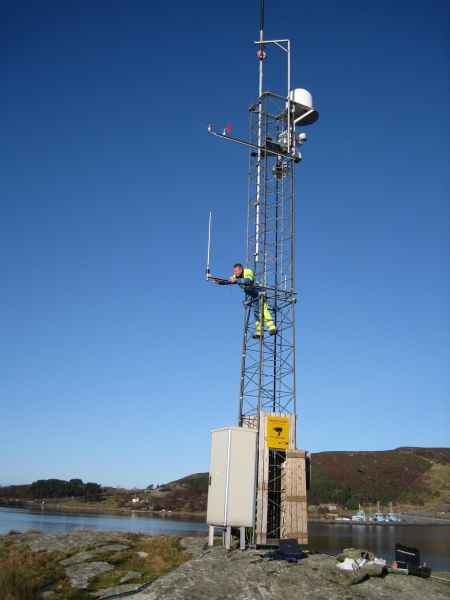 Weather Station at Kårstø Harbour, Norway - Case Study