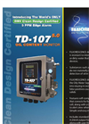 Model TD-107 5.0 - Oil Content Monitor - Datasheet