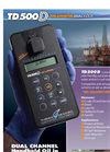 TDHI - TD-500D Dual Channel Handheld Oil in Water Analyzer - Technical Data