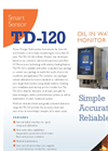TDHI TD-120 Continuous Oil In Water Monitor - Brochure