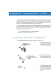 Addendum: Clean-In-Place System - Brochure