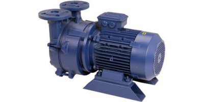 Model SM (3-10 HP) - Single Stage Liquid Ring Vacuum Pumps