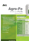 Agro-Fe - Foliar Nutrient (0-0-0 With 7% Fe) - Datasheet