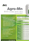 gro-Mn - Foliar Nutrient (8-0-0 With 6% Mn + 0.5% Fe + 3.5% S) - Datasheet