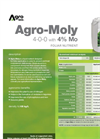 Agro-Moly - Foliar Nutrient (4-0-0 With 4% Mo) - Datasheet