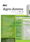 Agro-Ammo - Foliar Nutrient (8-0-0 With 9% S) - Datasheet