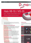 Halo - Model XB-10 / VIS-20 - Spectrophotometer Brochure