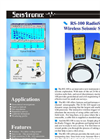 Model RS-100 - Wireless Seismic System Brochure