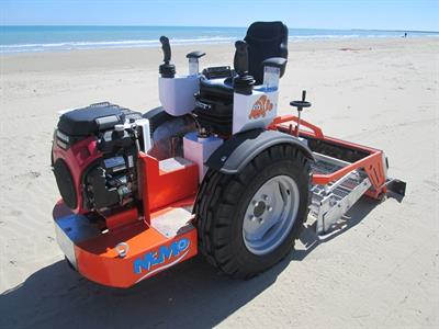 CleanSands, Inc. - Model NEMO Hydro - Hydraulic Beach Cleaning Machine