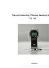 Model TLS-100 - Soil Thermal Conductivity Portable Meter Brochure