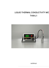 Model THW-L1 - Liquid Thermal Conductivity System  Brochure