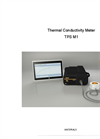 Model TPS M1 - Thermal Conductivity Portable Meter Brochure