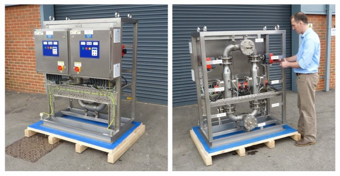 Standardised UV disinfection skid packages for offshore potable water treatment - Case Study