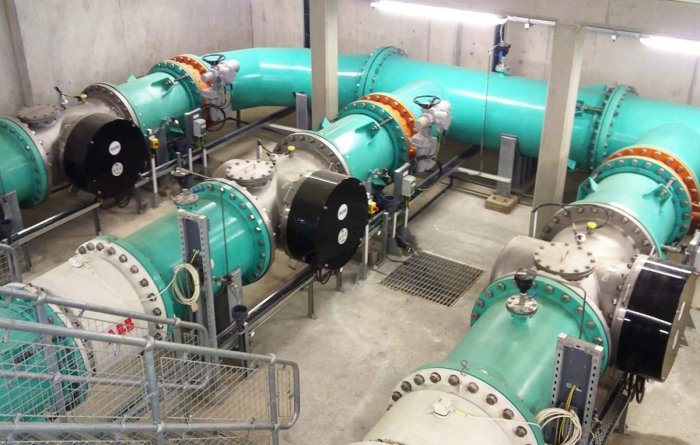 Sutton and East Surrey Water - Drinking Water UV Treatment - 5000m3/hr - Case Study