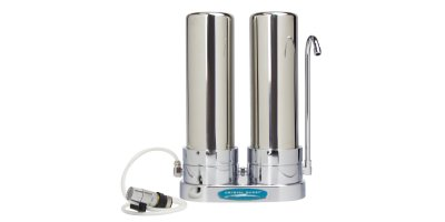 Crystal Quest - Model CQE-CT-00106 - SMART Double Countertop Water Filter System