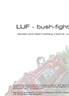 LUF BUSH - Remote Controlled Mulching Machine/ Carrier Brochure