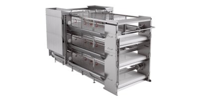 Model JUNIOR - Cage Equipment for Pullets Growing