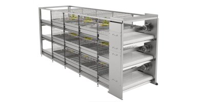 Automated Bird Harvesting Cage Systems for Broilers Growing