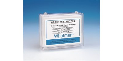 GE Whatman - Polycarbonate Clear Membrane Filters