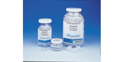 GE Whatman - Model Anotop Plus - Syringe Filters – Prefilter, Non-Sterile