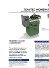 TeamTec - Model OG 120 - Incinerators Brochure