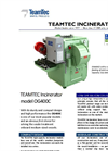 TeamTec- Model OG 400 - Incinerator Brochure