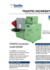 TeamTec - Model GS 500 - Marine Incinerators Brochure