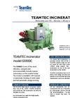 TeamTec - Model GS 900 - Marine Incinerators Brochure