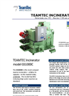 TeamTec - Model GS 1000 - Marine Incinerators- Brochure