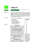 THINZ - Model IT - Highly Concentrated Thinning Agent- Brochure
