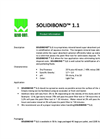 Solidibond 1.1 Mineral Based Super Absorbent Polymer Blend - Brochure