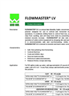 FLOWMASTER LV Low Viscosity, Highly Concentrated Proprietary Dry Polymer - Brochure
