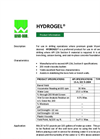 HYDROGEL For Use in Oil and Gas Exploration Drilling - Brochure