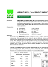 GROUT-WELL AND GROUT-WELL DF Bentonite Grouting Material - Brochure