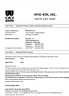 WYO-VIS LVP Shale and Clay Stabilizer - Safety Data Sheet
