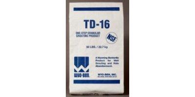 Model TD-16 - Coated Granular Bentonite Grouting Material