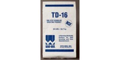 TD-16 - Drilling - Grouting - Coated Granular Bentonite Grouting