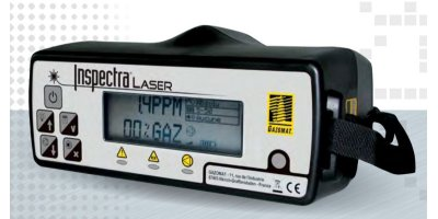 Gazomat Inspectra - Natural Gas Leak Laser Portable Analyzer