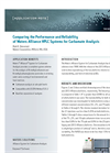Comparing the Performance and Reliability of Waters Alliance HPLC Systems for Carbamate Analysis